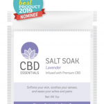 JUST IN TIME FOR MOTHER'S DAY: CANNAISSEUR BRANDS LAUNCHES NEW CBD ESSENTIALS SALT SOAK