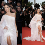 Alessandra Ambrosio's Cannes Red Carpet Beauty Look